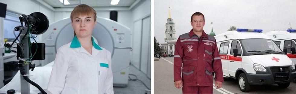 Спецодежда для медперсонала: медсестер, лаборанток, скорой медицинской помощи, врачей